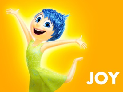Movie Inside Out Joy HD Wall Poster Paper Print