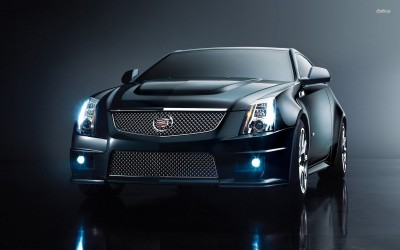 Athah Cadillac CTS-V Coupe Poster Paper Print