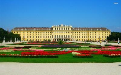 Athah Fine Quality Schonbrunn Palace, Austria poster Paper Print