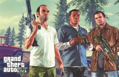 Posterhouzz Poster Grand Theft Auto Violence Paper Print