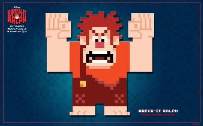 Movie Wreck-It Ralph Wreck-it Ralph Ralph HD Wall Poster Paper Print