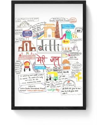 Athah Poster Dilli Meri Jaan Paper Print Paper Print