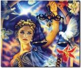 Stybuzz Horoscope Girl Frameless Canvas ...