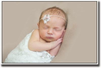 Baby sleeping sweetly Fine Art Print
