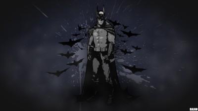 Batman Fan Art Batman: Arkham Asylum Batman: Arkham City Arkham Origins Gotham City Frameless Fine Quality Poster Paper Print