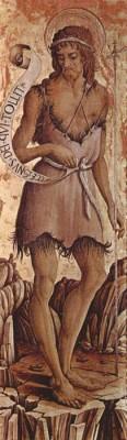 The Museum Outlet Altartafel aus San Silvestro in Massa Fermana, Detail - 1 (Medium) Canvas Painting