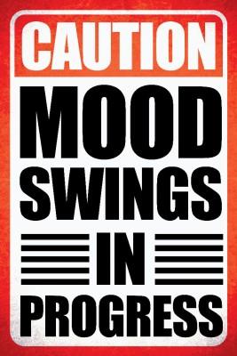 Seven Rays Caution Mood Swings In Progress Paper Print