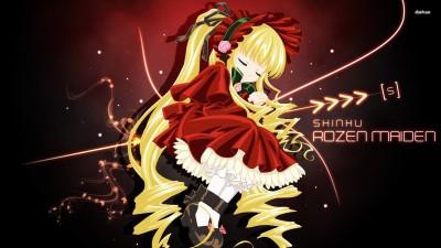 Shinku asleep - Rozen Maiden Athah Fine Quality Poster Paper Print