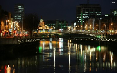 Athah Fine Quality Dublin poster Paper Print