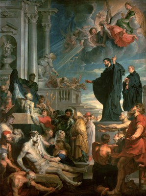 The Miracles of St. Francis Xavier Fine Art Print