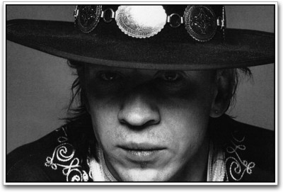Athah Poster Stevie Ray Vaughan Paper Print