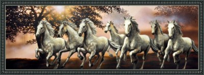 Seven Horses - ArtsNyou Printed Paintings Canvas Art