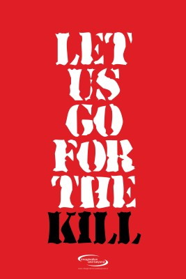 Go For The Kill Paper Print