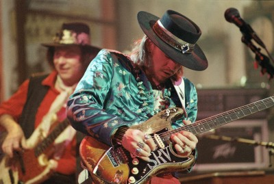 Music Stevie Ray Vaughan Wall Poster Paper Print