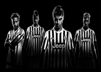 Juventus Soccer Players A4 NON TEARABLE High Quality Printed Poster - Wall Art Print (Size : 8.2 x 11.6) , For Bedroom , Living Room, Kitchen, Office, Room Paper Print