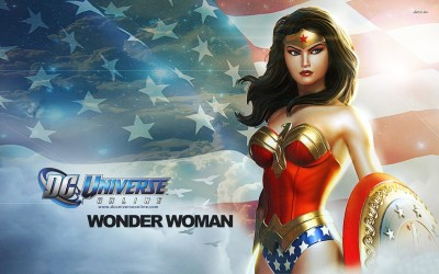 Wonder Woman - DC Universe Online Athah Fine Quality Poster Paper Print
