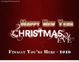 Merry Christmas Happy New Year Eve 2016 ...