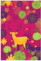 Forest Deer Pink Fine Art Print best price on Flipkart @ Rs. 2795