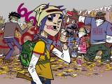 Music Gorillaz Graffiti Jerry_boy Taggin...