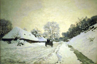 Monet - Orsay-brut Paper Print