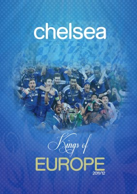 Chelsea: Kings of Europe Poster Paper Print