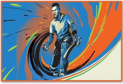 Cricket (18 x 12 Inches) by shopkeeda Paper Print