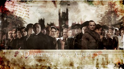 Wall Poster TVShow Downton Abbey Paper Print
