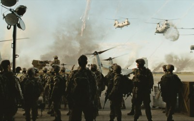 Movie Battle: Los Angeles Battle Los Angeles HD Wall Poster Paper Print