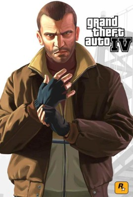 Grand Theft Auto 4 Poster Paper Print