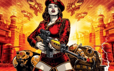 Command and Conquer Red Alert Animated Poster Paper Print