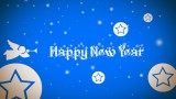 new year hd wallpapers POSTER Paper Prin...