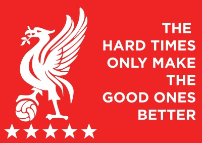Liverpool Hard Times Poster Paper Print