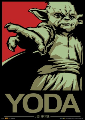 Official Star Wars Yoda A3 Poster Paper Print