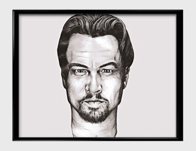 Leonardo Di Caprio Sketch Canvas Art