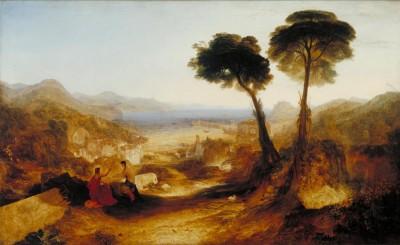 The Museum Outlet The Bay of Baiae, with Apollo and the Sibyl (Medium) Canvas Painting