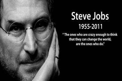 Go Hooked Steve Jobs Poster Paper Print