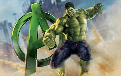 Movie The Avengers Hulk HD Wall Poster Paper Print at flipkart