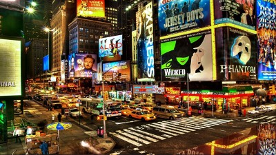 Times Square A3 HD Poster Art PNCA26077 Photographic Paper