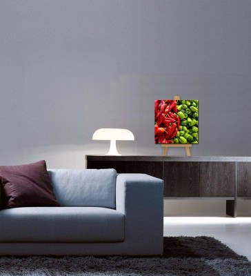 Tallenge Christmas Collection - Chilli And Capsicum - Gallery Wrap Canvas Art