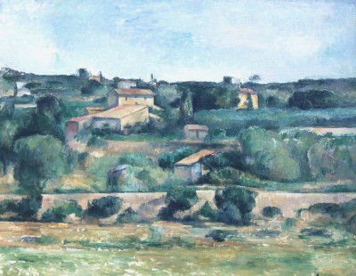 The Museum Outlet Landscape near Aix-en-Provence (Medium) Canvas Painting
