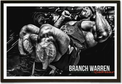 Framed Steroids or Workout? Paper Print
