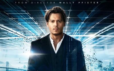 Movie Transcendence Johnny Depp HD Wall Poster Paper Print