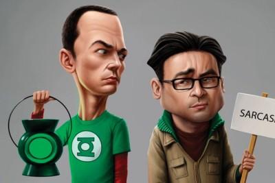 ESPcreationThe Big Bang Theory Paper Print