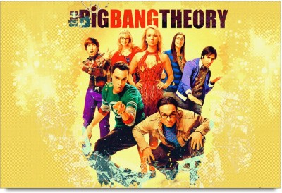 The Big BAng Theory popArt Paper Print