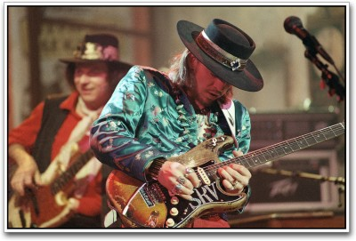 Stevie Ray Vaughan Photographic Paper