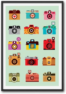 Athah Poster Life is Like A Camera d Paper Print