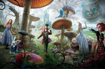 Go Hooked Wonderland Poster Paper Print