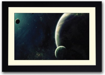 Athah Poster Planets and Moons Fine Art Print Paper Print