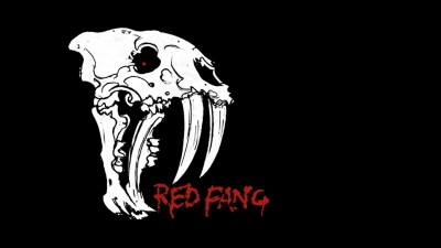 Wall Poster Red Fang Paper Print