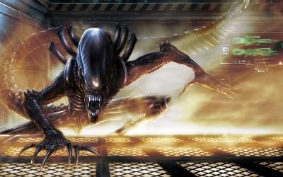 Movie Alien HD Wall Poster Paper Print